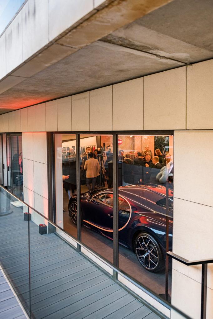 Inauguration du Showroom Bugatti à Paris - Marius Hanin